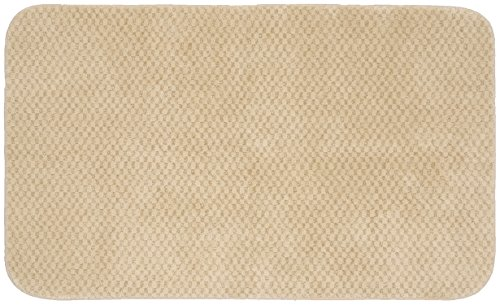 Garland Rug Cabernet Nylon Washable Rug, 30-Inch by 50-Inch, Linen