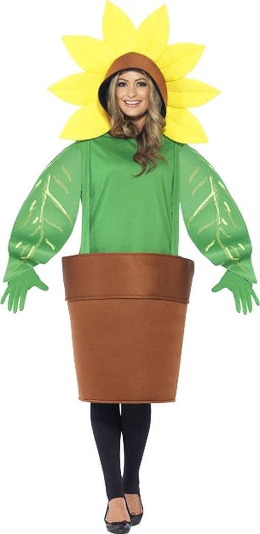 Smiffys Disfraz de Girasol para Adultos, Talla única: Amazon.es ...