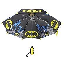 DC Comics Batman Black Yellow and Blue Colored Kids Umbrella