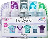 Tulip One-Step Tie-Dye Kit 37934 One-Step Tie Kit Fabric Dye, Mermaid: more info