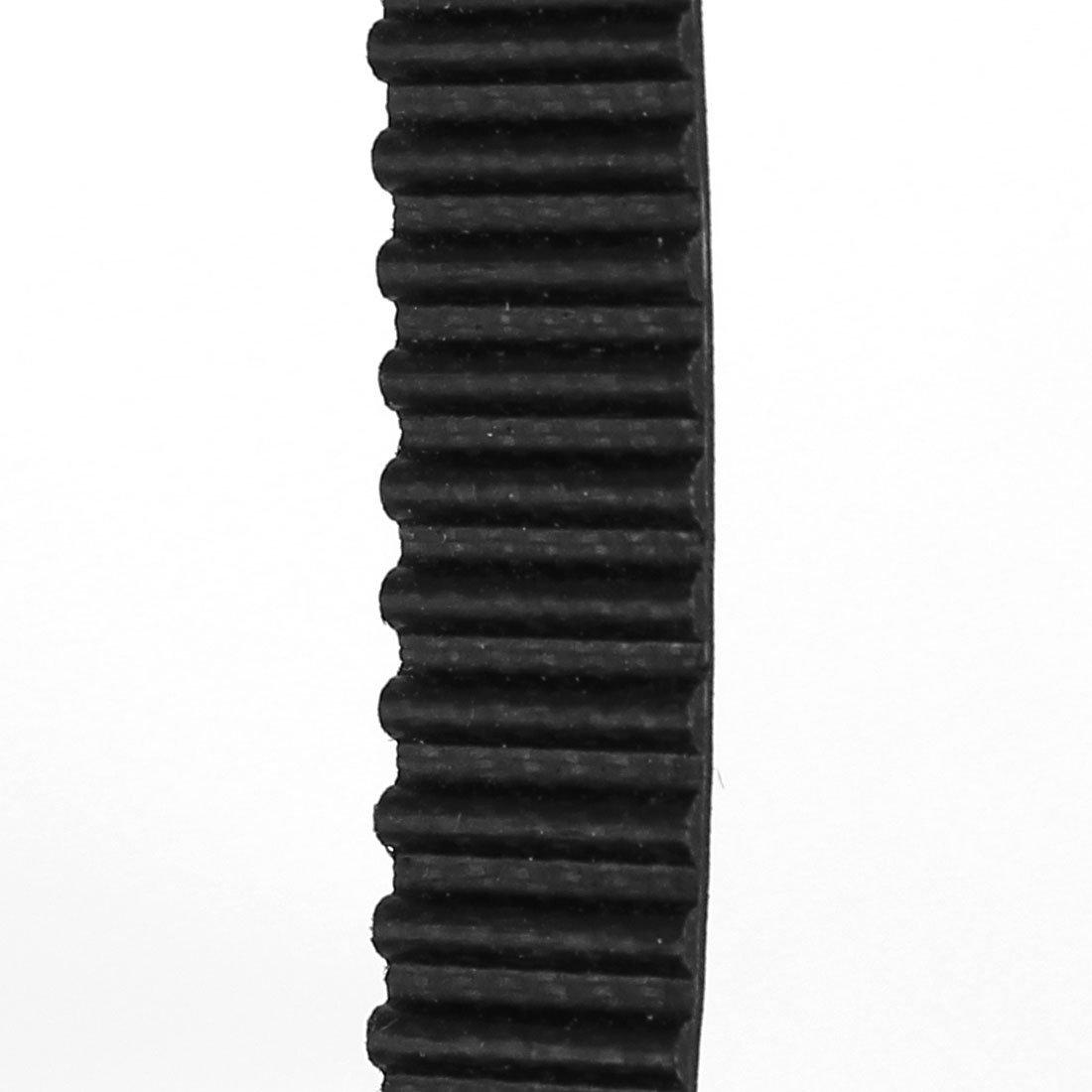 M/áquina DealMux 38cm Circunferencia de 9 mm Ancho de goma de un lado polea de la correa