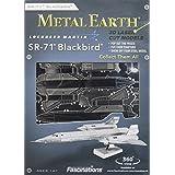 Metal Earth 3D Metal Model - SR71 Blackbird Plane