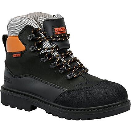Paredes SP5006 NE46 Black Electron – Zapatos de seguridad SBP talla 46 NEGRO