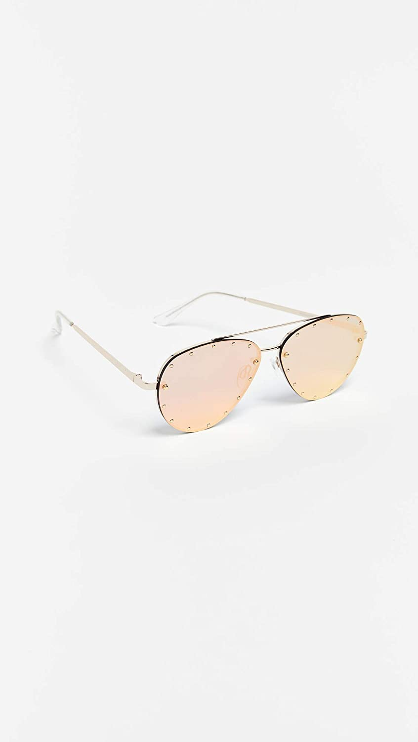 b8b723bc12f Quay womens roxanne sunglasses gold rose one size clothing jpg 846x1500 Quay  philippines elle shades