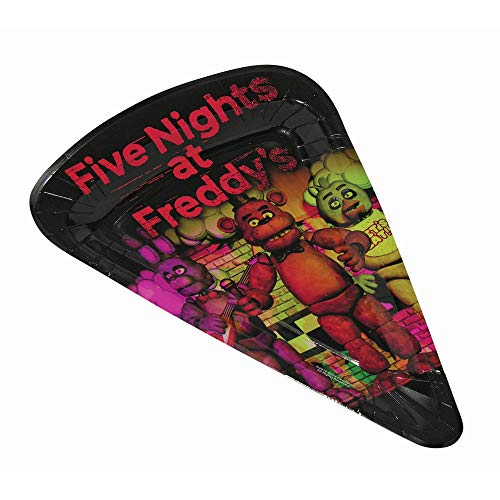 Five Nights at freddys 80007 Forum Novelties FNF Pizza Plates 16 -