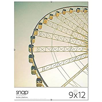 Amazoncom The Frameless Glass Clip 9x12 Frame By Snap 9x12