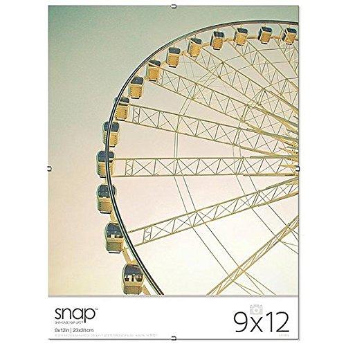 The Frameless Glass Clip 9x12 Frame SNAP - ()