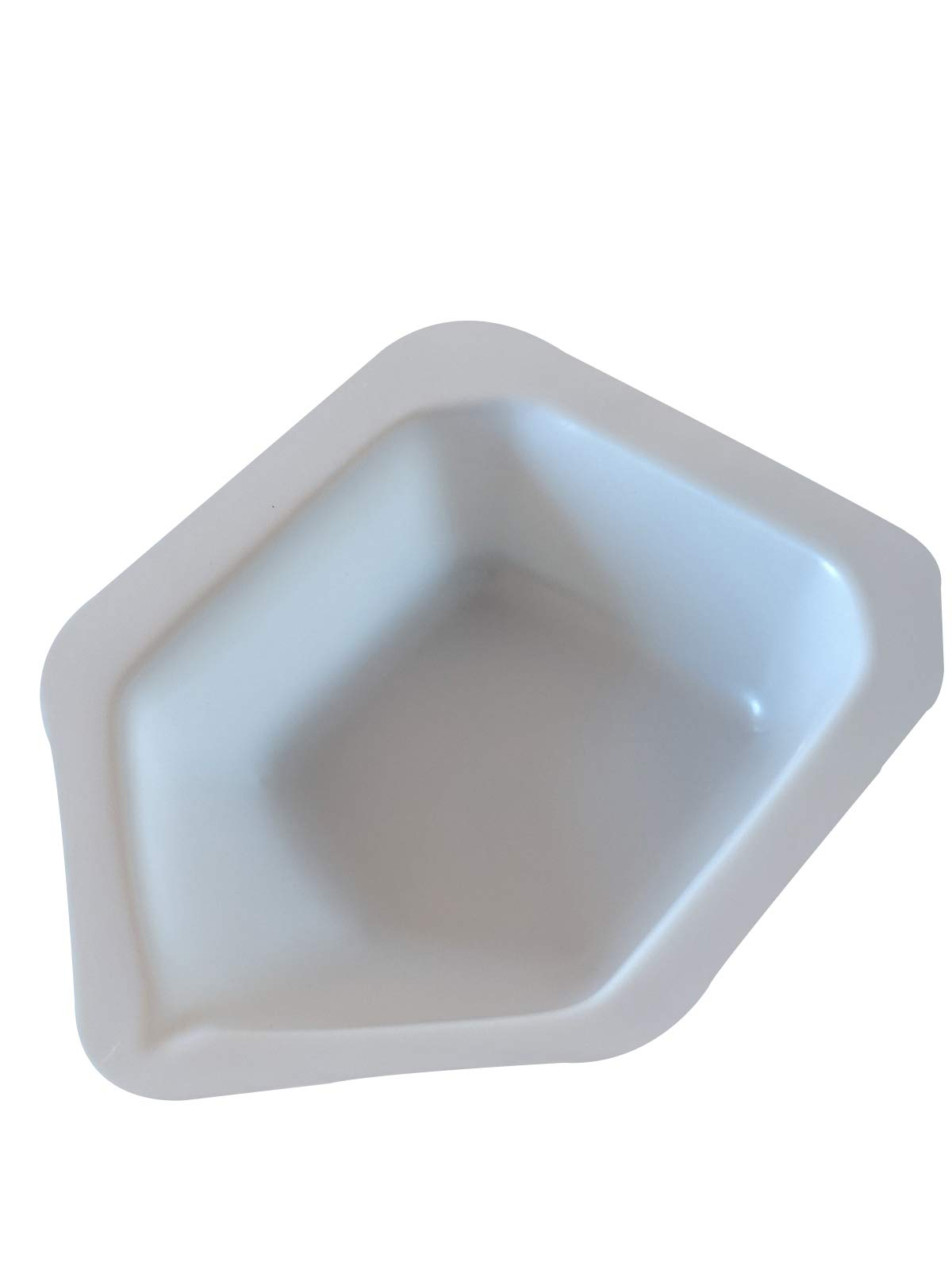 Pointed Polystyrene Weigh Canoe Boats, Large Dish 3 7/8 in x 6 5/8 in x 1 1/8 in [Pack of 125]