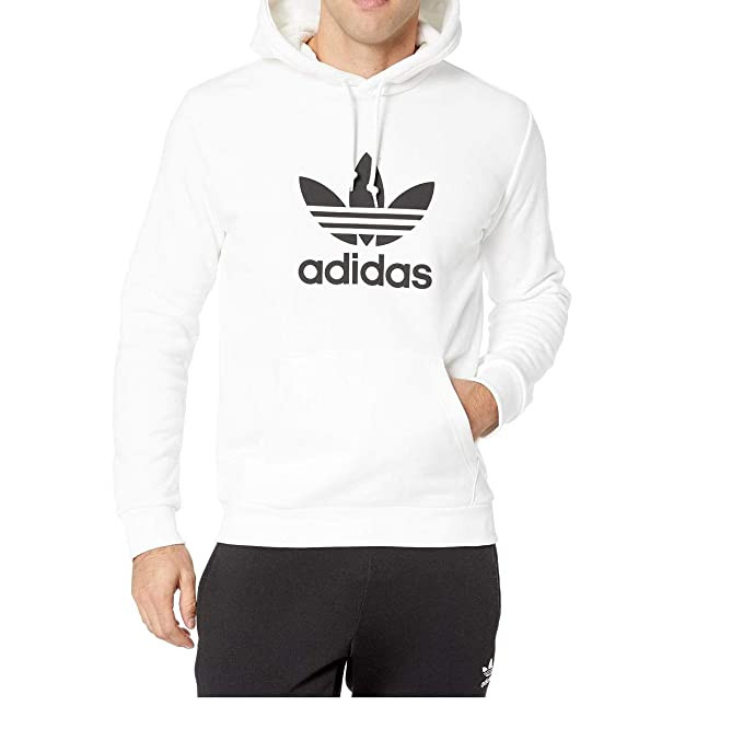 adidas Originals Men's Kids Trefoil Hooded Sweatshirt