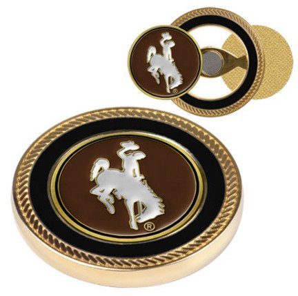 Wyoming Cowboys Challenge Coin withボールマーカー( Set of 2 )   B003N32KUE