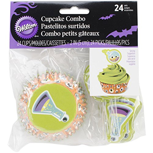 Wilton 415-3018 Mad Science Cupcake Decorating Combo -