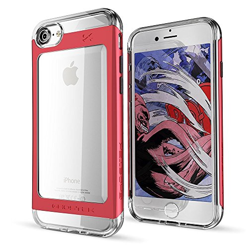 iPhone 7 Case, Ghostek Cloak 2 Series for Apple iPhone 7 Slim Protective Armor Case Cover (Red)