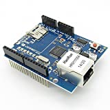 SenMod SD Card Network Shield Expansion Board Module for Arduino Ethernet W5100 Web Server