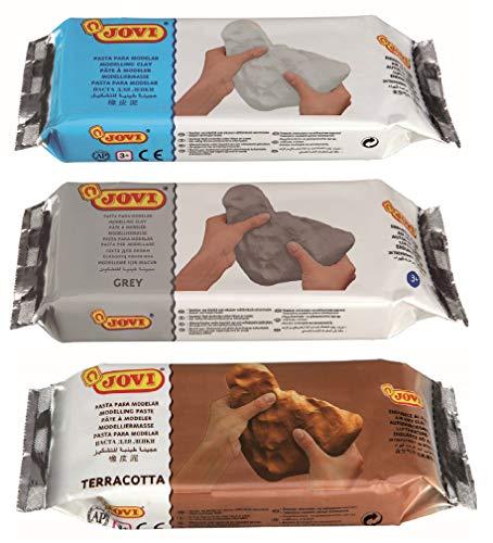 Jovi Premium European Air Dry Modeling Clay Pack of