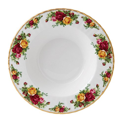(Royal Albert 15210014 Old Country Roses Rim Soup Bowl)