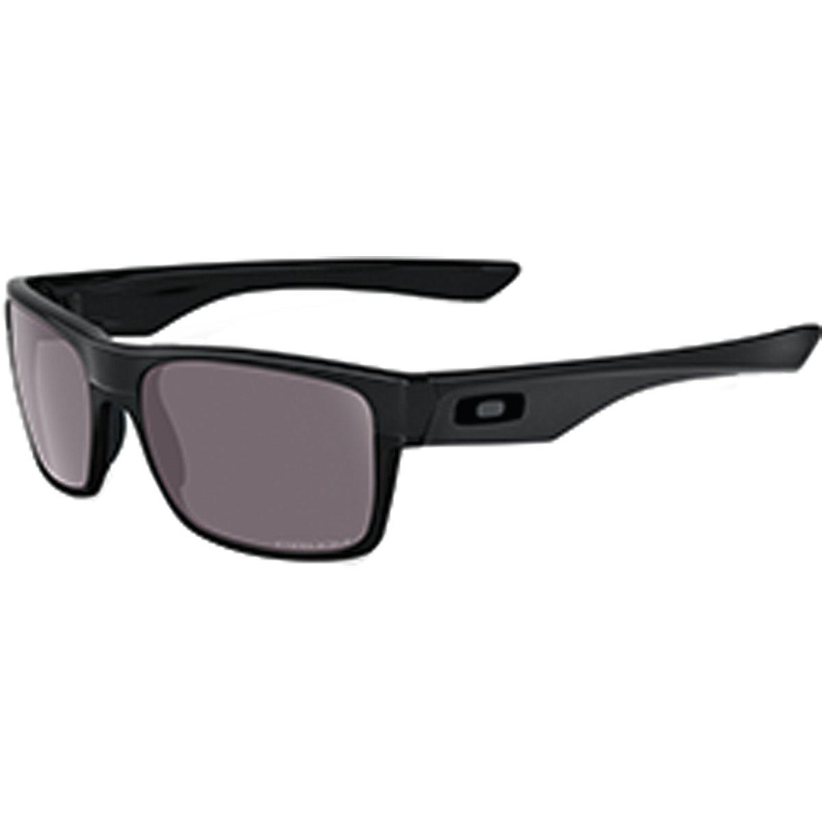 Oakley Men's OO9189 TwoFace Square Sunglasses, Matte Black/Prizm Daily Polarized, 60 mm by Oakley