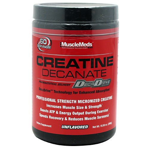 Muscle Meds Creatine Decanate Unflavored 10.58 oz (300g)