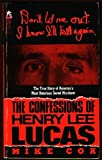The Confessions of Henry Lee Lucas, Mike Cox, 0671706659
