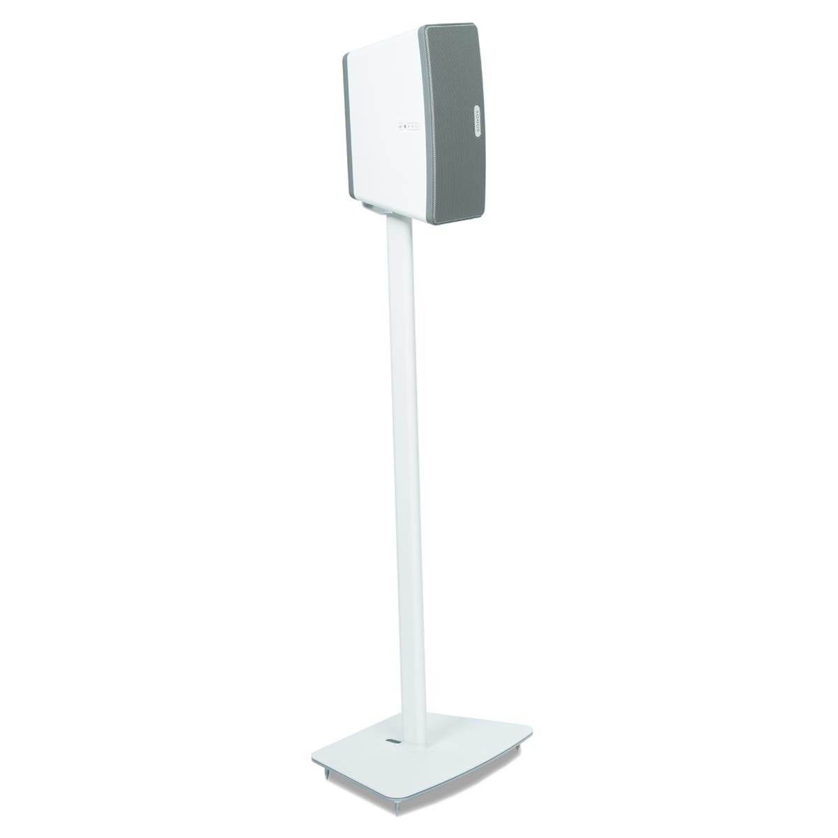 Sonos Play:3 All-In-One Wireless Music System with Flexson Floor Stand (White)