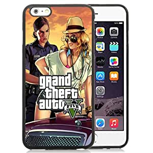 Unique and Attractive TPU Cell Phone Case Design with GTA 5 Woman Cop Frisk Me iPhone 6 plus 4.7 inch Wallpaper