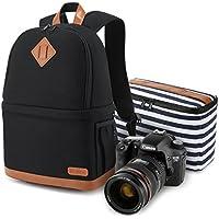 Kattee Professional Canvas SLR DSLR Camera Case Backpack...