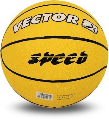 Vector X BB Speed Basketball, Adult Size 5  Yellow