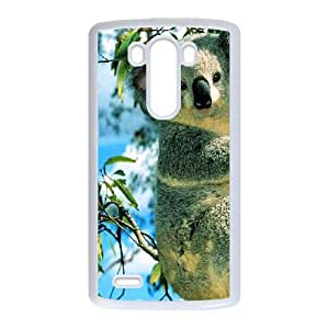 Koala LG G3 Cell Phone Case White Phone cover F7607774
