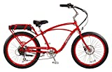 "Pedego Comfort Cruiser 26"" Classic Red with Black Balloon Package 36V 10Ah"