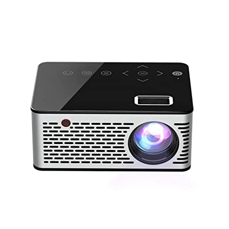 LHJCN Proyector, Mini Portátil Proyector, Soporte Full HD 1080p de ...