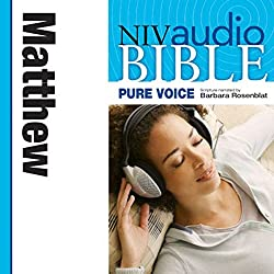 NIV New Testament Audio Bible, Female Voice Only: Matthew