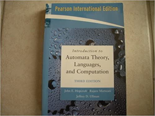 Ullman computation ebook theory of
