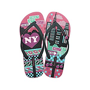 Ipanema Unique III 3 New York Womens Flip Flops / Sandals-Pink-9