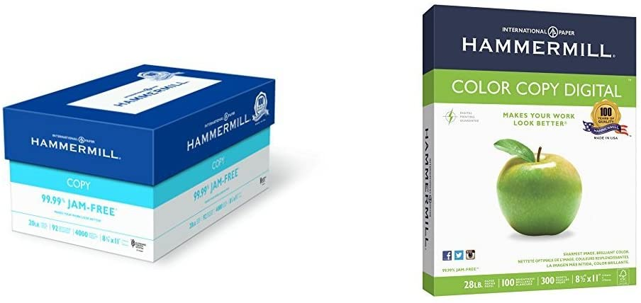 Hammermill Paper, Business Value Pack - Copy and Presentation paper in one (113640 - 102700)