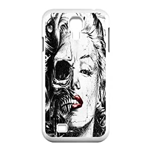 Best Quality [LILYALEX PHONE CASE] Devil Skull Art For SamSung Galaxy S4 Case CASE-18
