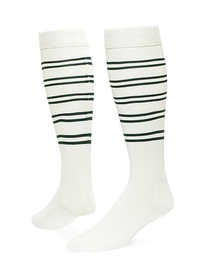 68f255bde7c Red Lion Viper Knee High Sock (White Dark Green - Medium) at Amazon ...