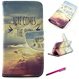 S3 Case,JCmax Pattern Ultra Slim Full-Body Protective Premium PU Leather Flip Stand Stander Protector Case Cover with Card Slots and Magnetic Closure for Samsung Galaxy S3 i9300