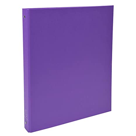 Exacompta 51376E - Carpeta con 4 anillas, A4, color morado