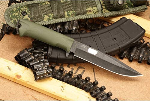 Kizlyar Russian Combat Knife Military Steel AUS 8 Knives