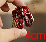 TCOS TECH Hulkbuster Iron Man Avengers PVC Figure KeyChain Key Ring Chain