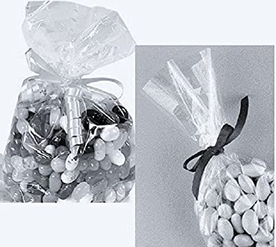 """Clear Cello/cellophane Bags - 6"""" X 9"""" - Party/favors - Gift Basket Supplies - 100"""