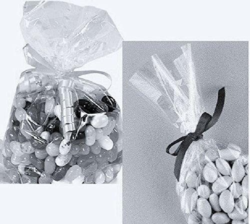 """Crystal Clear Cello Bags, 9"""" x 12"""" / 100 Cellophane Bag Set."""