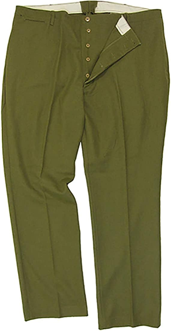 WW2 Repro US Army Pants Military New American M37 Wool Trousers Heavy Issue