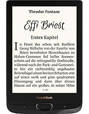 PocketBook Basic Lux 2 eBook-reader 15,2 cm (6,0 inch) zwart, zilver, PB616W-H-WW