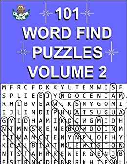amazon com 101 word find puzzles vol 2 more themed word searches
