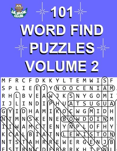 Lil Club - 101 Word Find Puzzles Vol. 2: More Themed Word Searches, Puzzles to Sharpen Your Mind (Large 101 Themed Word Search Series) (Volume 2)