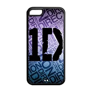 Danny Store Hard Rubber Protection Cover Case for iPhone 5C - One Direction