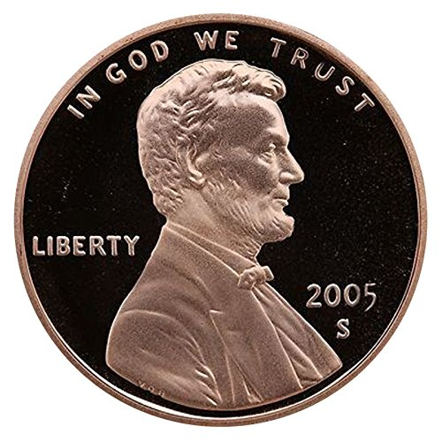 2005 S Gem Proof Lincoln Memorial Cent Penny Proof US Mint