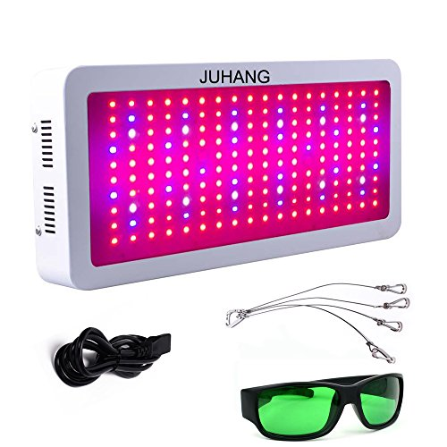 JUHANG 1800w led Plant Grow Light Full Specturm Double Chips for Indoor Plants Vegetables Hydroponic System Greenhouse and Marijuana(Including Grow Room - Sale Room For Grow