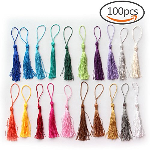 Creatrill Handmade Tassels Projects Bookmarks product image