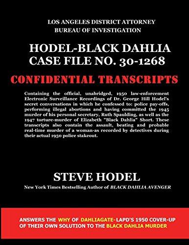 Black Case Dahlia (Hodel-Black Dahlia Case File No. 30-1268 by Steve Hodel (27-Mar-2014) Paperback)